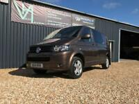 2014 VOLKSWAGEN TRANSPORTER T30 KOMBI HIGHLINE 4MOTION DSG 7 180 BHP NO V
