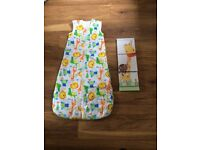 18 - 36 month sleeping bag and matching picture