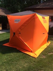 Fish-Inn 4 Man Pop Up Ice Fishing Tent