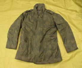 Genuine Polish Army Issue PUMA Camo Cold Weather Field Jacket / Parka