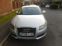 £3850 Ono Perfect Buy!!!!!! Audi A3 SE TDI 2.0 REMAPPED 170bhp Full Service History!