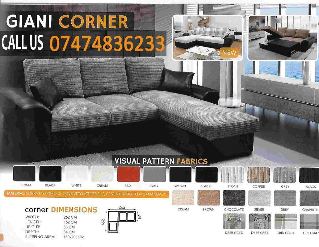 Giana sofa Bed HKin Heywood, ManchesterGumtree - FOXFURNITURE brand new products.Delivery availablecash on deliverylot of colors availablecall us about this product or any other furniture products you want.click see all ads to see other ads or products