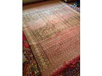 Large 8 x 6 Vintage Handmade Moroccan Berber Carpet Kilim Rug 250 x 180cms