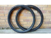 "Various tyres (Selling in pairs at various prices. (All 26"")"