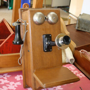 Early Wall Mount Telephone