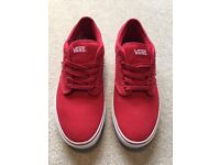 Vans Atwood Lows - Red Size 9