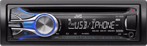 JVC CD IPOD USB BLUETOOTH DECK