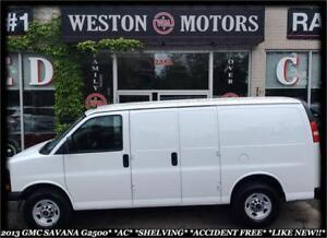 2013 GMC Savana 2500 A/C*SHELVING*ACCIDENT FREE*GAS/PROPANE*
