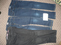 Bundle of 3 jeans/ trousers for girl 6-7 years old. Gap, John Lewis.