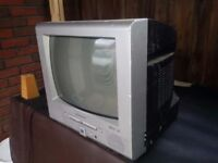 TV with DVD player for £5 only