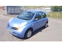 2004 Nissan Micra S 1.2 Petrol 78000 Miles Only...