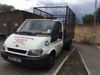 Ford transit tipper with cage. Runs and drives well. Failed mot as needs welding