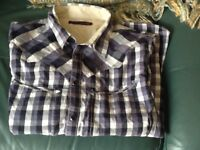 Levi Strauss long sleeve shirt size large good condition