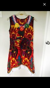 New Indian Style Dress(Never Worn)-Size:L/G