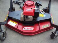 Atv/ Quad Logic Topper/Rotary Mower Heavy Duty Professional machine - Suitable for large grass areas
