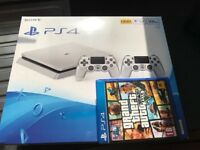 PS4 Silver (brand new)