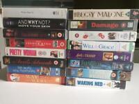 16 VHS Video films