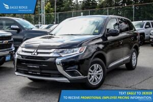 2016 Mitsubishi Outlander ES Heated Seats and Air Conditioning