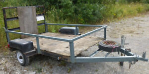 Solid utility trailer - REDUCED $399