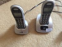 Big button cordless phone set