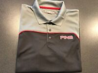 Golfing polo shirt by Ping Large