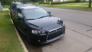 Mitsubishi Lancer 2015 leather sunroof AWD