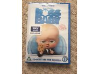 New sealed boss baby DVD