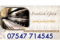 Professionally piano music to listen