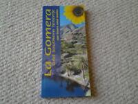 LA GOMERA WALKING AND CAR TOUR GUIDE BOOK with map included