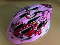 Girls 50-57cm Bell Cycle hat