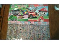 Paw Patrol Books and Stickers