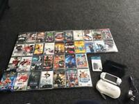 Sony PlayStation portable PSP console and game umd film bundle play station