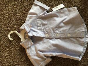 Old Navy short sleeve dress shirt