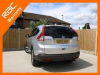 2015 Honda CR-V 1.6 i-DTEC Turbo Diesel SR 6 Speed Sat Nav Rear Cam Bluetooth DA