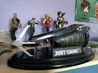 Ps4 / Xbox One Just Cause Grapple Hook Collectors Edition Figure Statue