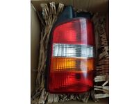 VW T5 rear light cluster