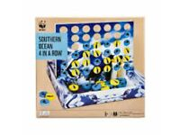 Brand new WWF Southern Ocean 4-in-a-row board game
