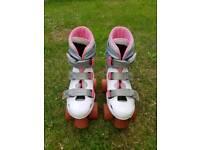 Girls Quad Roller Skates SIZE 1
