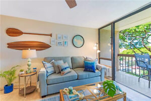1 Bed Vacation Condo South Kihei, Maui, Across from the Beach