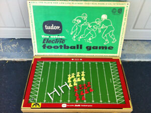 Vintage 1960 Tudor Tru Action Electric Football Game... $25
