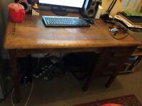 Abbess Woodware Desk, vintage
