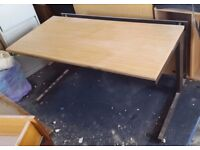 Office Table with back Spacer