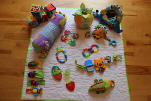 Tummy Time Toys and Rattles