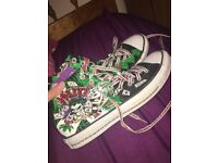 CONVERSE - THE JOKER AND HARLEY LIMITED EDITION!!!!!!