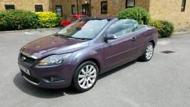 FORD FOCUS CC CONVERTIBLE 58 REG