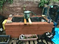 wooden pond for ssle