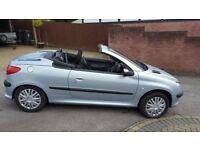 PEUGEOT 206 CC NEW MOT 1.6 2 DOOR