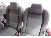 Peugeot 307 sw 3rd raw seats (pair)