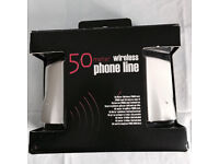 Brand new boxed 50-meter wireless phone line, quick sale at only £25,no time wasters please