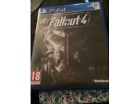 Brand new PS4 game - fallout 4